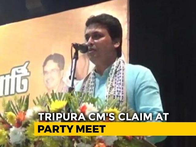 Video : Biplab Deb Says Amit Shah Shared Plans For BJP Expansion To Nepal, Lanka
