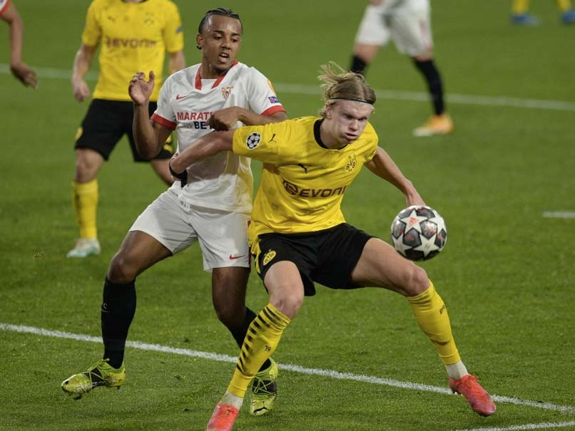 Champions League: Erling Braut Haaland Shines As Borussia Dortmund Win Sevilla Thriller