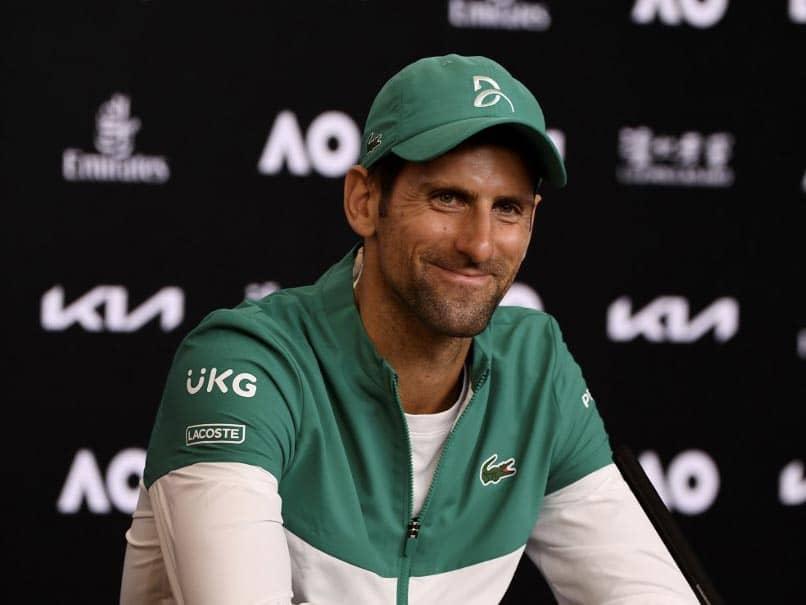 """Its A Love Affair"": Novak Djokovic On His Relationship With Australian Open"