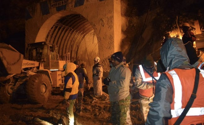 Uttarakhand Tunnel Rescue Work Halted As River Surges Once more