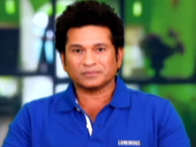 Video: It Is Everyone's Responsibility To Look After Mother Earth: Sachin Tendulkar