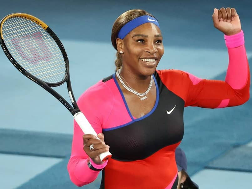 Serena Williams Downs Simona Halep To Make Australian Open Semi-Finals