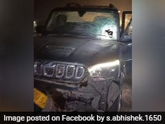 BJP Leader Car Attacked With Crude Bombs On Way To Kolkata