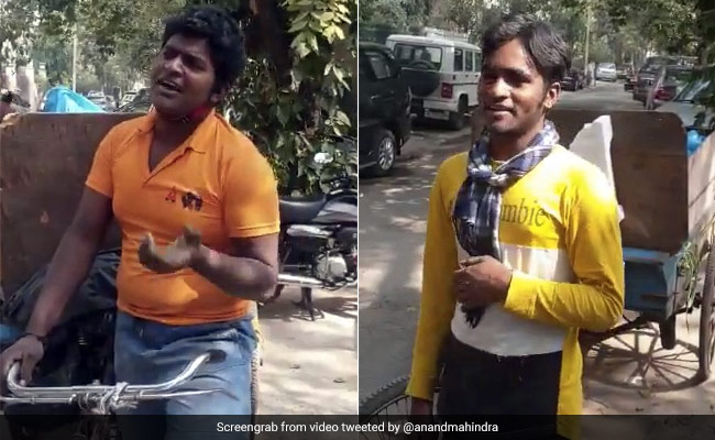 Delhi Sanitation Workers Impress Anand Mahindra With Their Voice. Watch - NDTV