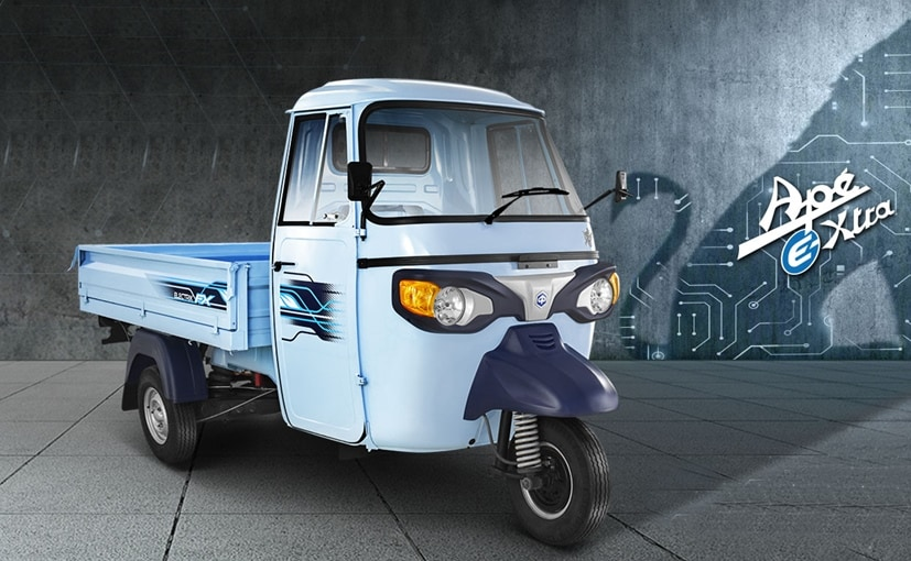 The Piaggio Ape e-Xtra will be the first electric 3-wheeler from the company for the cargo segment