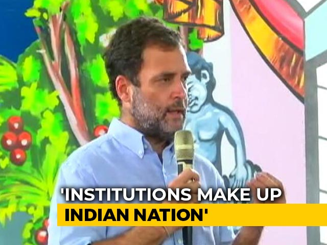 Video : RSS Destroyed Institutional Balance In The Country: Rahul Gandhi