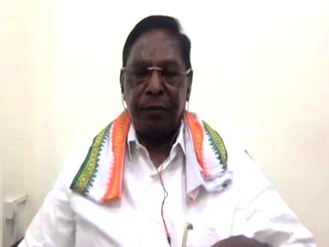 Video : BJP Wanted To Topple Government Before PM's Visit: V Narayanasamy To NDTV