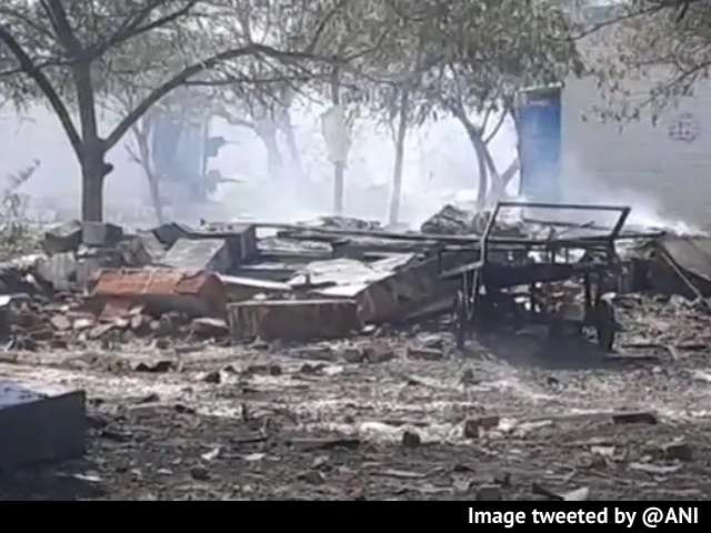 Video : 15 Dead, Many Injured In Explosion At Firecracker Factory In Tamil Nadu
