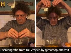 British Chef's Strange Video Tutorial To Crack Eggs Has Confused The Internet