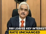 """Video : Key Lending Rate Unchanged At 4%; RBI Says """"Need Of Hour To Back Growth"""""""