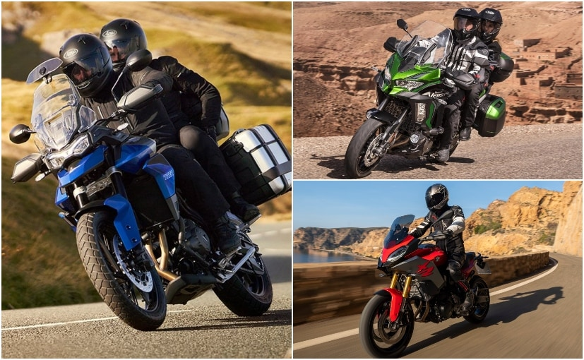 The Triumph Tiger 850 Sport takes on the BMW F 900 XR and the Kawasaki Versys 1000 in the segment