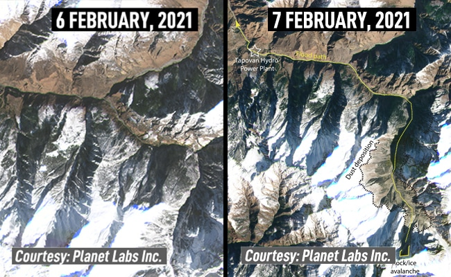 Exclusive: Before And After Satellite Photos Of Uttarakhand Disaster Site