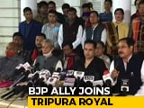 Video : Ahead Of Crucial Poll, BJP Ally Joins Tripura Royal, Seeks Separate State