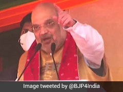 "Congress Joined Hands With AIUDF In Assam For ""Lust For Power"": Amit Shah"