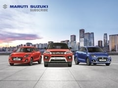 7 Reasons Why Your Next Maruti Suzuki Car Should Be A Subscription