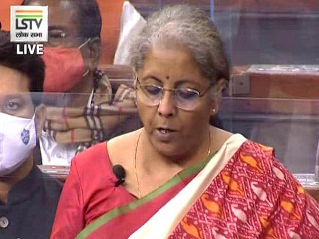 Video : Fully Prepared To Facilitate Economy Reset: Nirmala Sitharaman's Budget