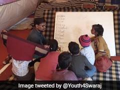 Makeshift School By Farmers' At Delhi's Singhu Border Resumes After 2-Week