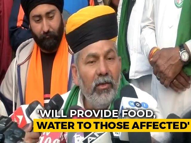 "Video : ""<i>Chakka Jam</i>"" To Be Pan-India Except Delhi: Farmer Leader Rakesh Tikait"