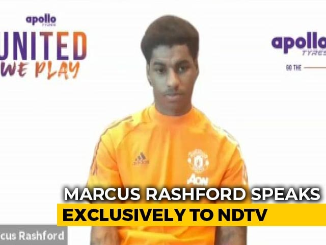 """Video : """"Was Thinking About Kids, Not Global Attention"""": Marcus Rashford"""