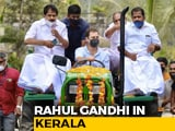 Video : Rahul Gandhi Leads Tractor Rally In Kerala To Protest Against Farm Laws