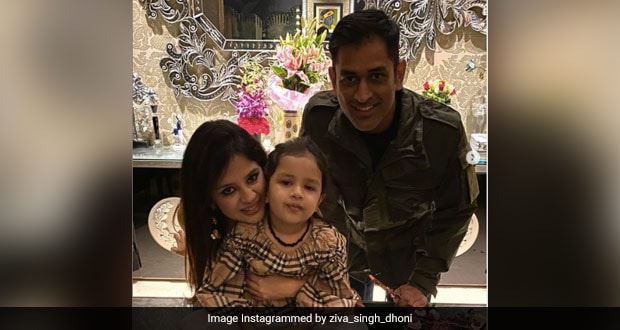 Ziva Dhoni Handpicks Veggies For Dinner; Guess What All Are There In Her Bucket