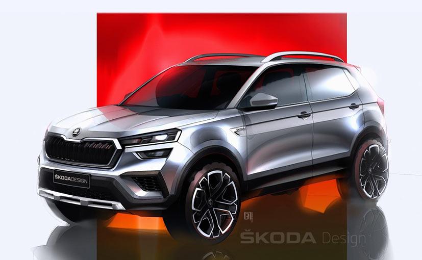 Skoda Kushaq Sketches Reveal Design Of The Compact SUV