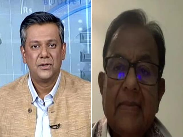 "Video : P Chidambaram Calls Health Budget ""Conjurer's Trick"""