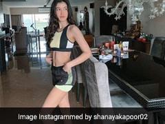 Shanaya Kapoor Strikes A Pose In Cool Colourblock Athleisure