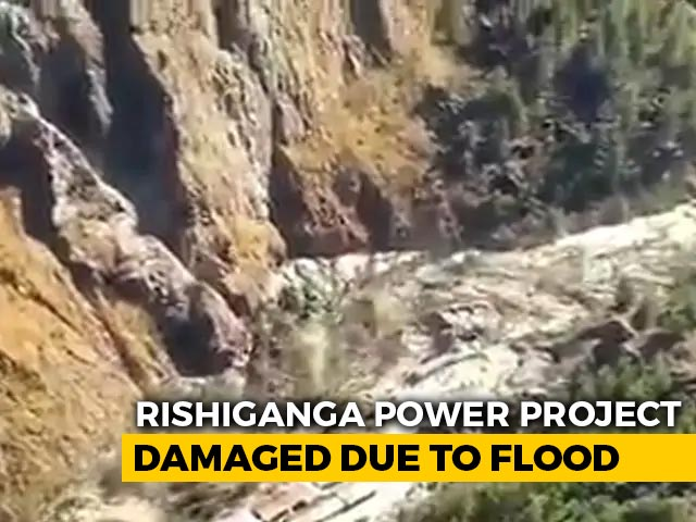 Video : Rishiganga Power Project Damaged After Glacier Break: NDRF Chief