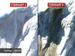 New Satellite Images Show Uttarakhand Avalanche's Path Of Destruction