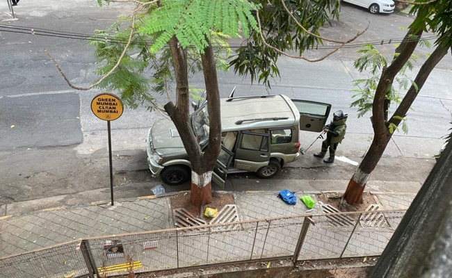 Automobile With Explosives Discovered Close to Mukesh Ambani's Home In Mumbai