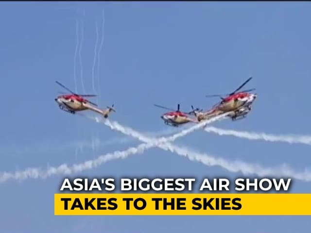 """Video : At Aero Show, India Inks """"Biggest"""" Make-In-India Defence Deal For Tejas"""