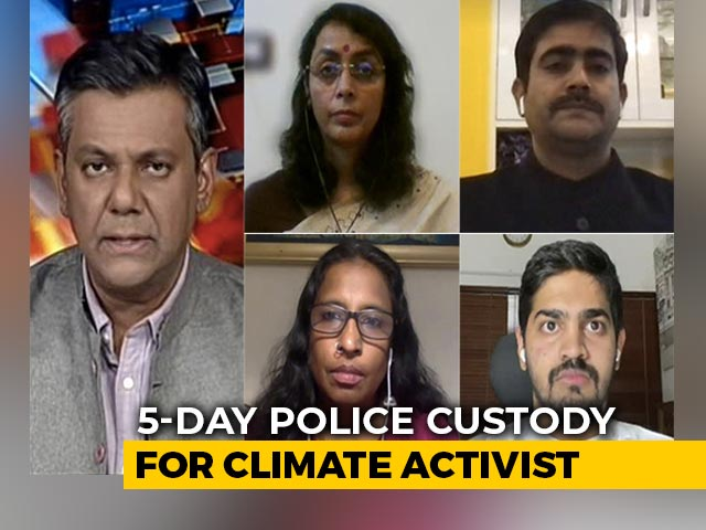 Video : 5-Day Police Custody For 22-Year-Old Climate Activist