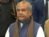 """Video : Centre """"Ready For Debate"""" On Farm Laws: Agriculture Minister In Lok Sabha"""