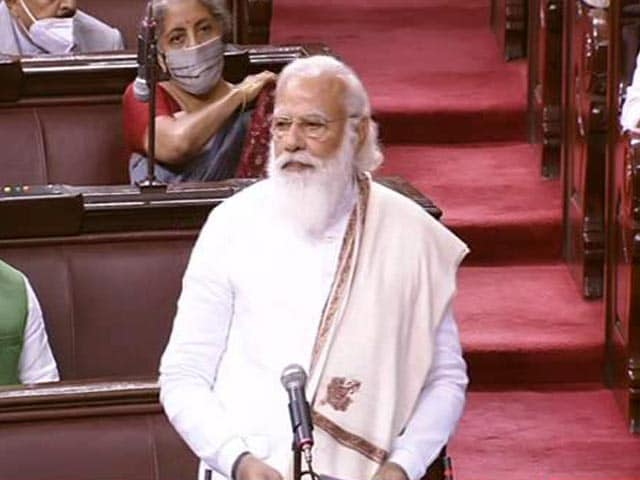 "Video : ""We Are Working For Small Farmers,"" PM Says In Parliament"