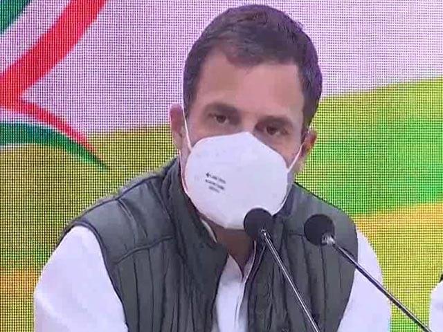 "Video : ""PM Ceded Territory To China"": Rahul Gandhi"