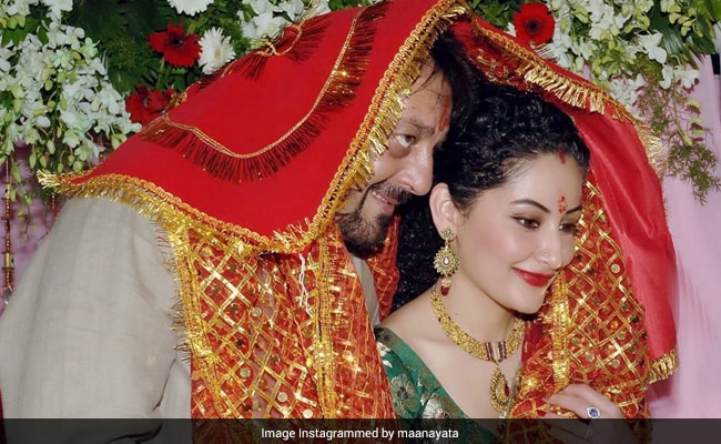 On Anniversary, Sanjay Dutt Tells Maanayata What's Changed In 13 Years - NDTV