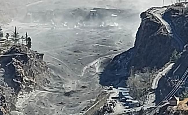 Rishiganga Hydro Project Washed Away By Glacier Burst In Uttarakhand: Official
