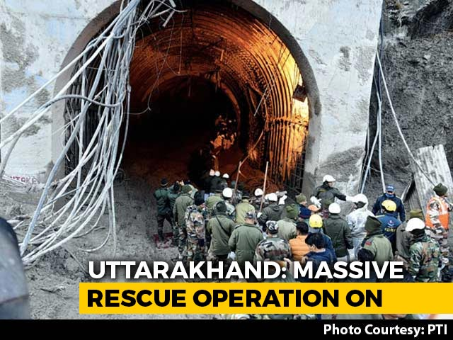 Video : 18 Dead In Uttarakhand Glacier Disaster, Search For 200 People