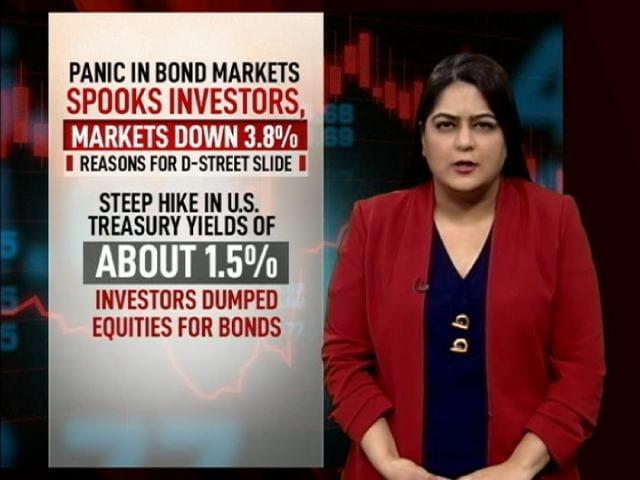 Video : Sensex Tumbles Over 1,900 Points