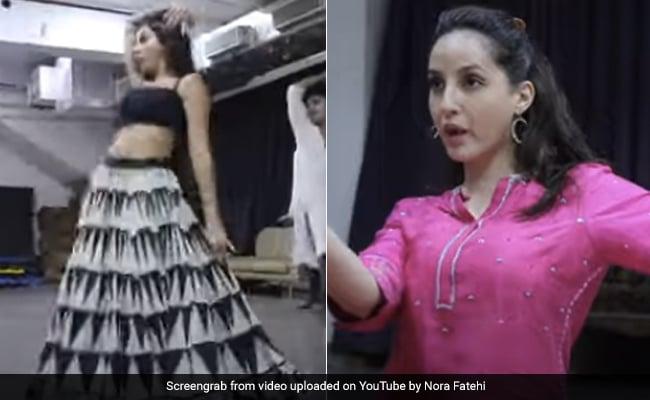 Nora Fatehi ने की 'छोड़ देंगे' सॉन्ग के लिए जमकर मेहनत, Video में इंडियन डांस फोर्म सीखतीं आईं नजर