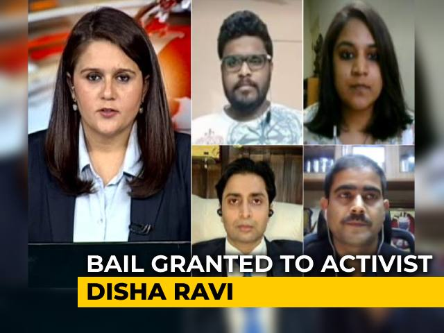 Video : Activist Disha Ravi, Arrested In 'Toolkit' Case, Gets Bail From Delhi Court