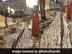 """Build Bridges, Not Walls"": Rahul Gandhi's Swipe At Centre, With Pics"