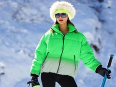 Urvashi Rautela's Outfit Is On Point As She Steps Out In Winter Wonderland