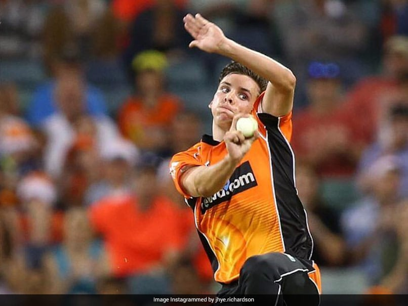 IPL Auction 2021: Jhye Richardson Bags Rs 14 Crore, Goes To Punjab Kings