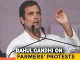 """Video : """"Build Bridges, Not Walls"""": Rahul Gandhi To Centre On Farmers' Protests"""