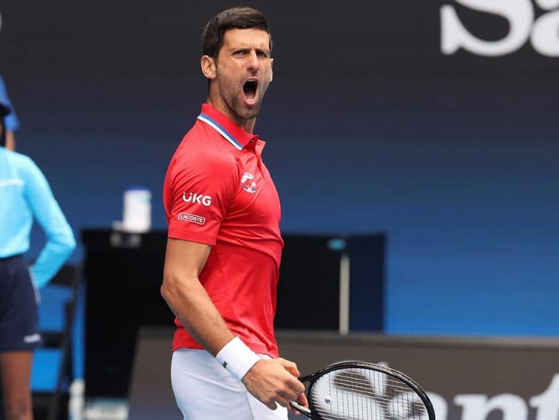 ATP Cup: Fired-Up Novak Djokovic Makes Perfect Start But Dominic Thiem Slumps