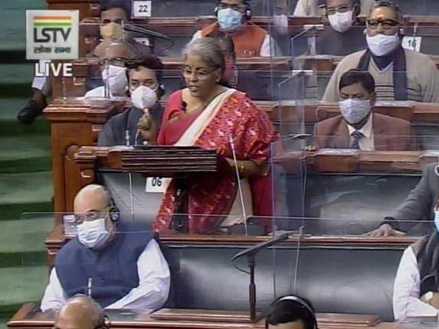 "Video : ""Faith"": Nirmala Sitharaman Invokes Tagore To Begin Budget Speech"