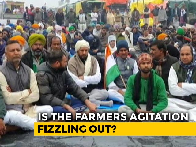 Video : Crowds Thin Out At Delhi Borders As Farmers Plan New Strategy