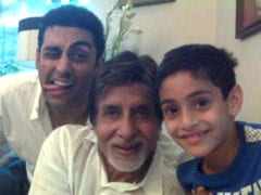 On Abhishek Bachchan's Birthday, An Epic Throwback Pic From Nephew Agastya Nanda